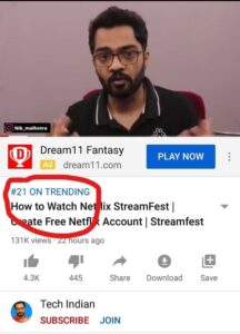 tech indian trending video